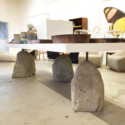 S+B BESPOKE BOULDER DINING TABLE