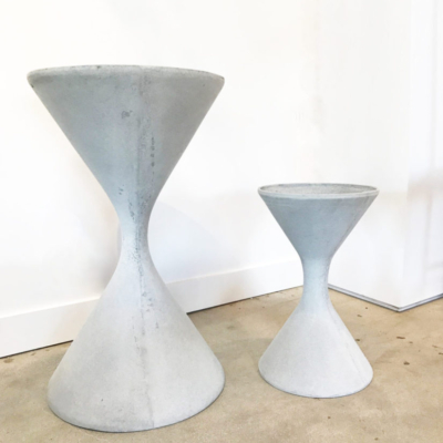 WILLY GUHL & ANTON BEE SPINDLE PLANTERS