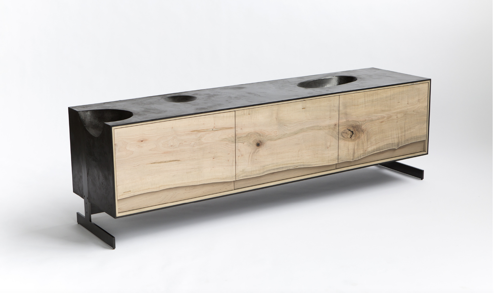 OUTSIDE IN SIDE CREDENZA BY PATRICK WEDER