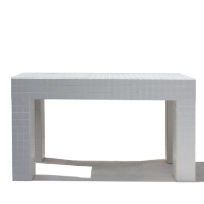 PORCELAIN TILE DINING TABLE