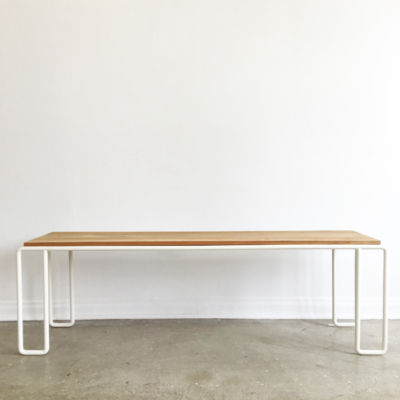 ELLIPSE DINING BENCH