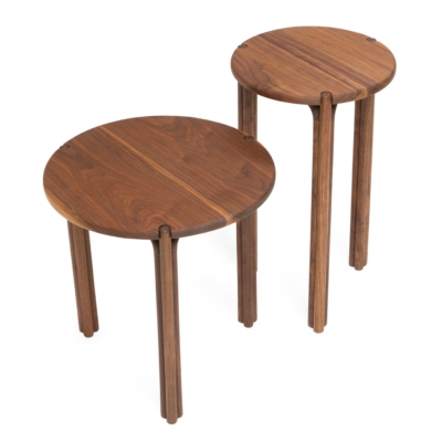 ALL WOOD SIDE TABLES