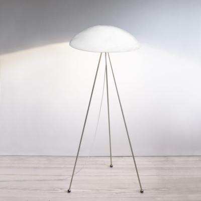 CONCRETE & BRASS FLOOR LAMPS