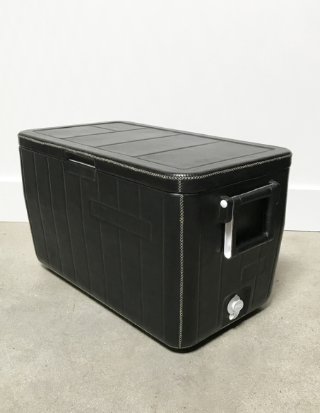 LEATHER CLAD COOLERS