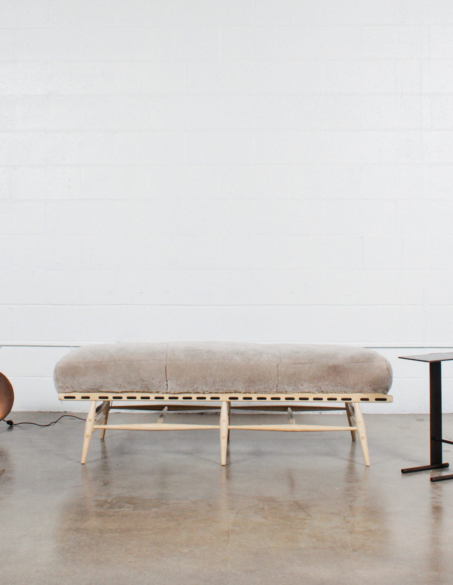 STAHL + BAND BESPOKE SADDLE LEATHER STRAPPING BENCH
