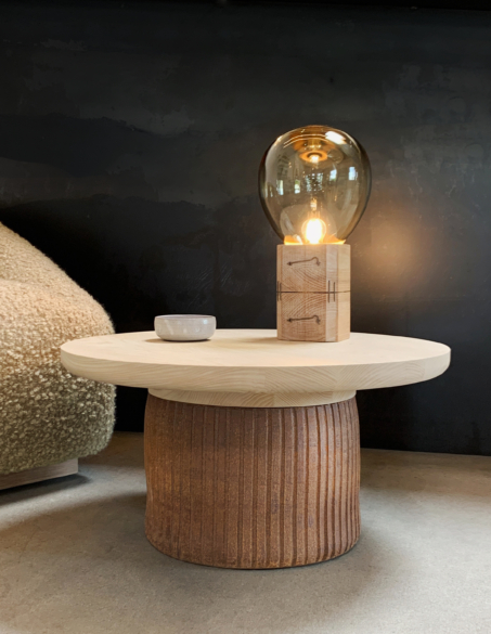 LEHM SIDE TABLE