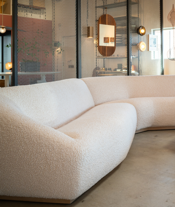 POUF SECTIONAL