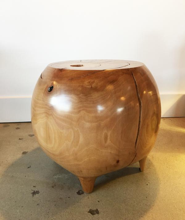 MAPLE STOOL / TABLE