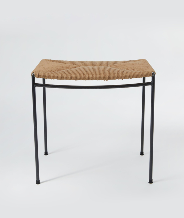 UNTITLED RUSH WOVEN STOOL