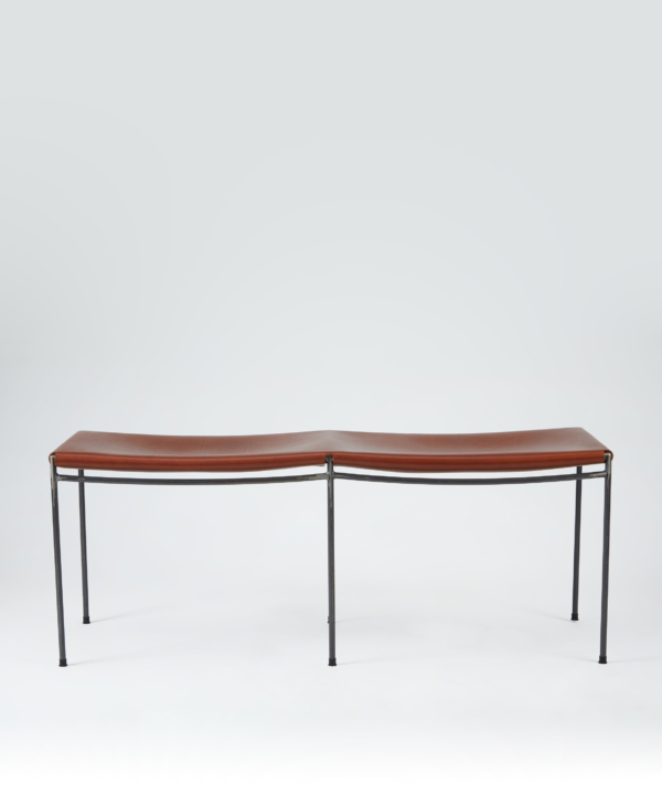 UNTITLED LEATHER BENCH