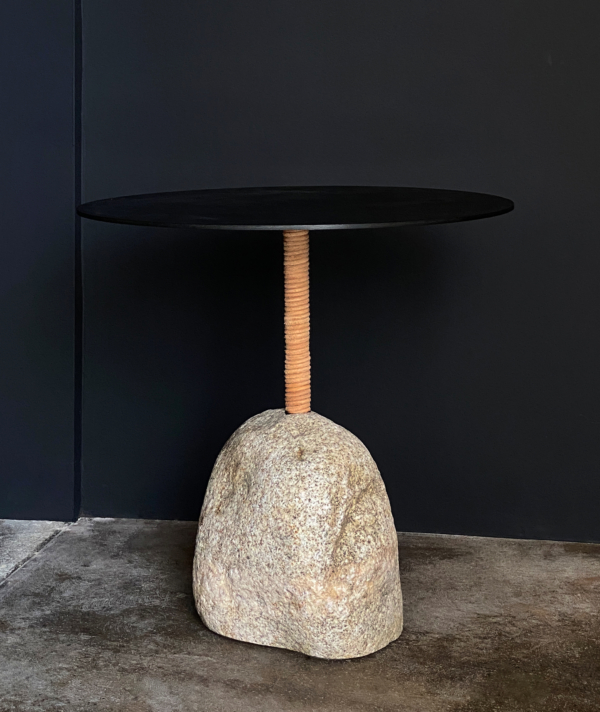 BOULDER SIDE TABLE