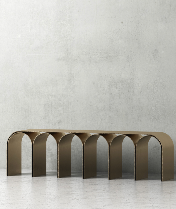 GOLD ARCH BENCH
