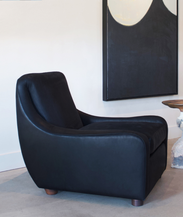 LEATHER JAKE CHAIR
