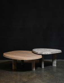 L SERIES MARBLE COFFEE TABLE