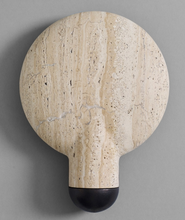 SURFACE WALL SCONCE TRAVERTINE